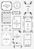 Векторный клипарт: Набор векторных рамок-орнаментов