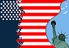 Vector clipart: 4th July – Independence day of United States of A