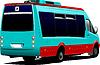 Small city or tourist minibus