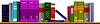 Векторный клипарт: полке библиотеки