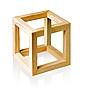 Unreal cube | Stock Foto