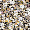 Seamless stony wall background | Stock Foto