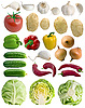 Photo 300 DPI: Vegetables set