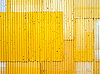 Yellow fence | Stock Foto