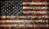 Photo 300 DPI: grunge American flag