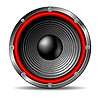Vector clipart: Audio speaker