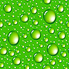 green water drops seamless background