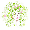 Lady Spring | Stock Vector Graphics