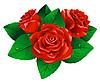Векторный клипарт: Розы