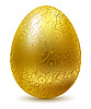 Golden Eastern egg