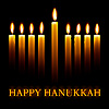 Vector clipart: Happy Hanukkah