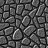 Seamlessly stone wall background. | 光栅插图