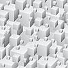 Vektor Cliparts: Graues nahtloses Muster von Boxen