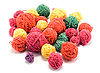 Balls of color wool | Stock Foto