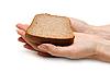 ID 3050613 | Brot in der Hand einer Frau | Foto mit hoher Auflösung | CLIPARTO