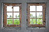 ID 3050665 | Two old windows | High resolution stock photo | CLIPARTO