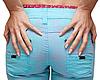 Feminine prist in blue jeans | Stock Foto