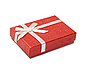 Red gift box | Stock Foto