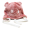Photo 300 DPI: Baby rose hat