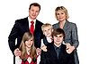 Merry big family portrait | Stock Foto