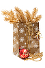 Photo 300 DPI: Christmas gift package