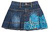Jeans mini skirt | Stock Foto
