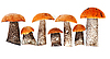 Fresh forest mushrooms | Stock Foto