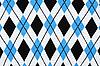 Photo 300 DPI: Background of knitted plaid fabrics