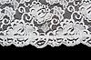 White pattern lace   Stock Foto