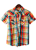Checkered child's shirt | Stock Foto