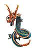 ID 3060387 | Деревянный дракон | Фото большого размера | CLIPARTO