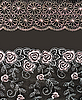 Photo 300 DPI: Collage lace with pattern in the manner of flower