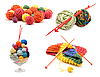 ID 3060399   Сollage varicoloured balls for knitting   High resolution stock photo   CLIPARTO
