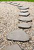돌 경로 | Stock Foto