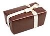 ID 3066159 | Brązowe pudełko z kokardą | Foto stockowe wysokiej rozdzielczości | KLIPARTO