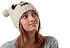 Portret młodej dziewczyny w zimie kapelusz | Stock Foto