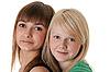 Фото 300 DPI: Портрет двух подружек