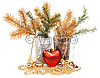Christmas still life | Stock Foto