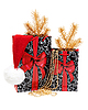 Two Christmas gift boxes | Stock Foto
