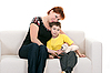 ID 3067165 | Mother and son | High resolution stock photo | CLIPARTO