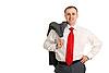 ID 3067179 | Man in einem weißen Hemd | Foto mit hoher Auflösung | CLIPARTO