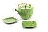 Foto 300 DPI: Chinesische Teekanne und Tasse