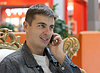 ID 3307618 | Man smiles with telephone in hand | High resolution stock photo | CLIPARTO