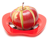 Photo 300 DPI: Red apple and special knife