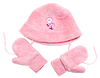 ID 3309450 | Rose baby set of hat and mittens | High resolution stock photo | CLIPARTO