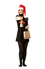 ID 3310920   Santa girl hat   High resolution stock photo   CLIPARTO