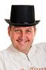 ID 3335157 | Portret mężczyzny w meloniku | Foto stockowe wysokiej rozdzielczości | KLIPARTO