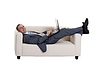 Businessman lying on couch | Stock Foto