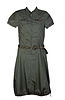 Women`s dress khaki | Stock Foto