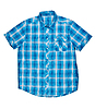 Photo 300 DPI: checkered blue shirt with short sleeves